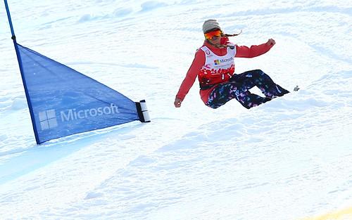 Hannah Teter Snowboarding 2017