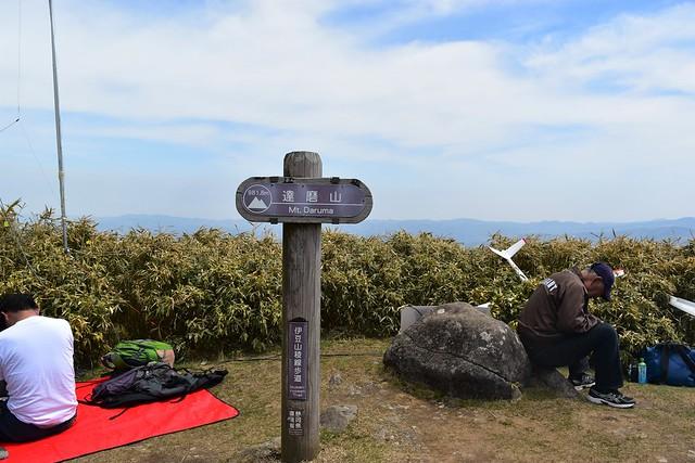 伊豆・達磨山山頂