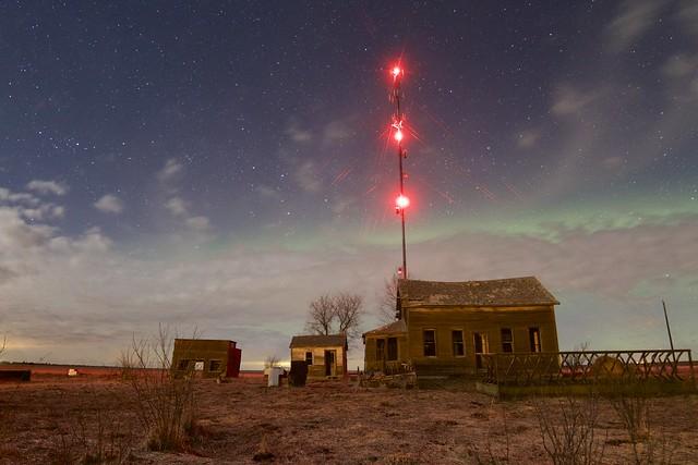 Beiseker House Radio beacon