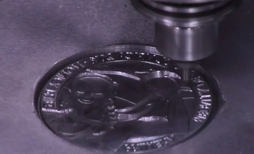 Medallic art video clip2