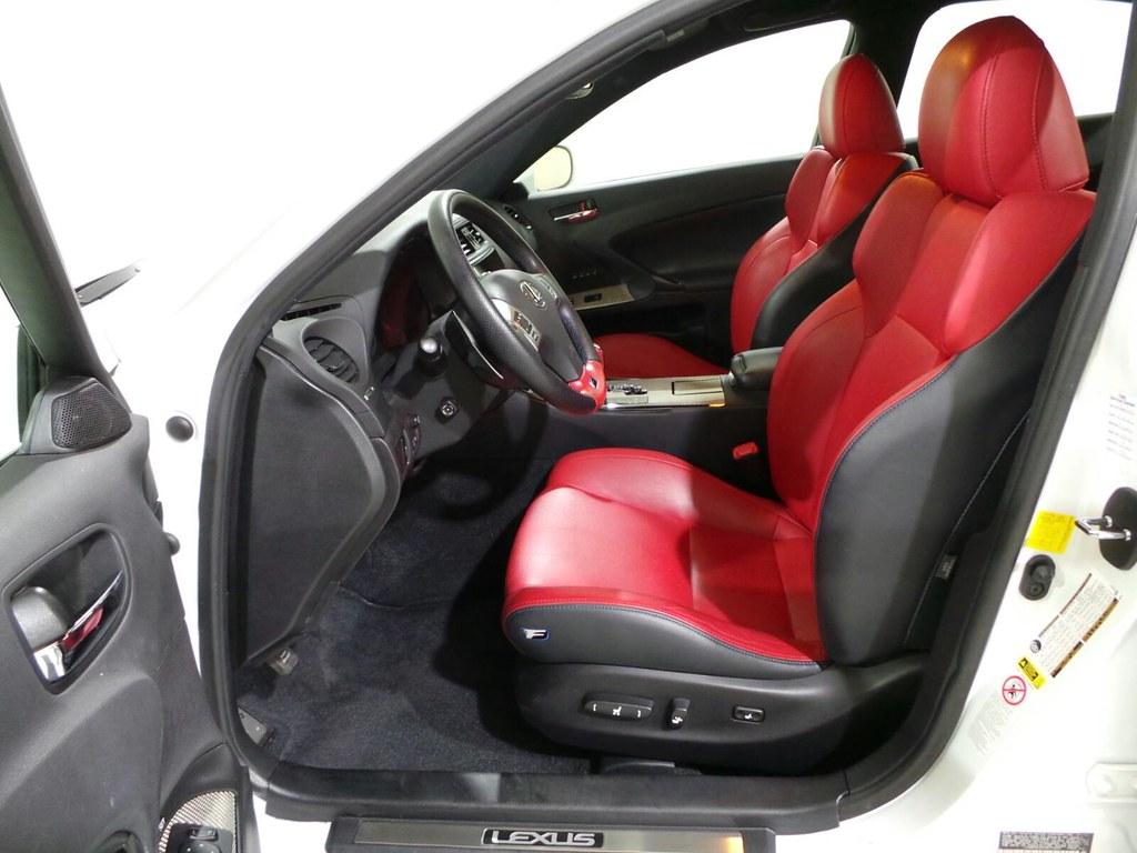 ... Lexus IS F Red Interior | By JME Werkstatt