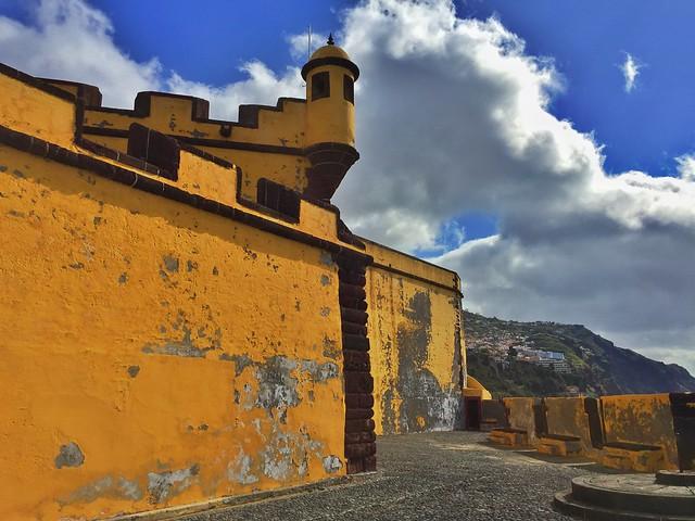 Fuerte de Santiago en Funchal