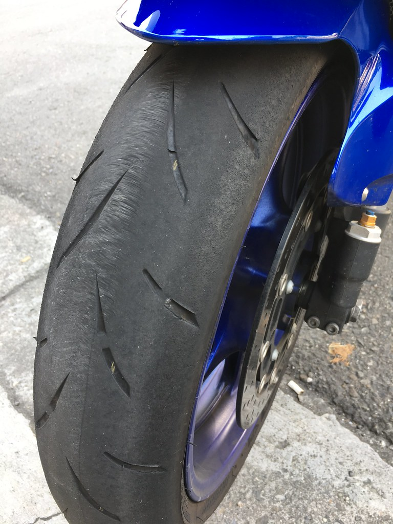 S21 new tire.