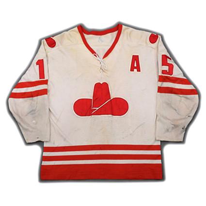 Calgary Cowboys 1975-76 F jersey
