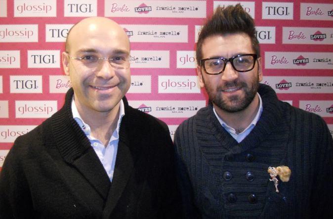 Mario Paglino y Gianni Grossi, coleccionistas italianos de Barbie