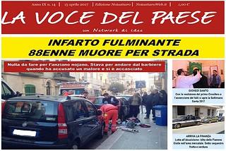 Noicattaro. Prima pagina n. 14-2017 front