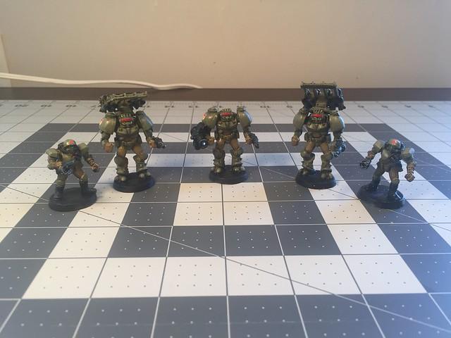 Fantasian Mobile Artillery Squad