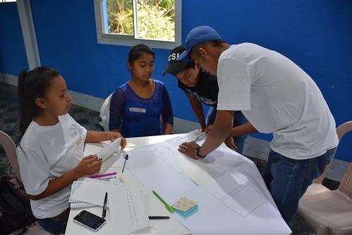 Taller de cambio climático, fotografía y video con jóvenes del TeSAC El Tuma-La Dalia