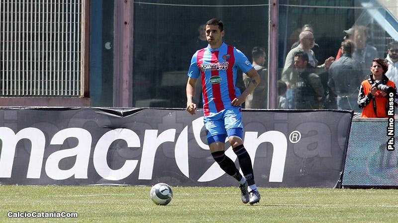 Drausio Gil, difensore brasiliano a segno contro il Siracusa