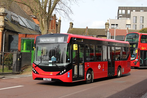 CT Plus 1242 on Route W11, Walthamstow Central