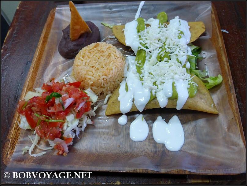 קסדייה ב- Viva Mexico