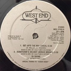 DJ DIVINE:GET INTO THE MIX(LABEL SIDE-A)