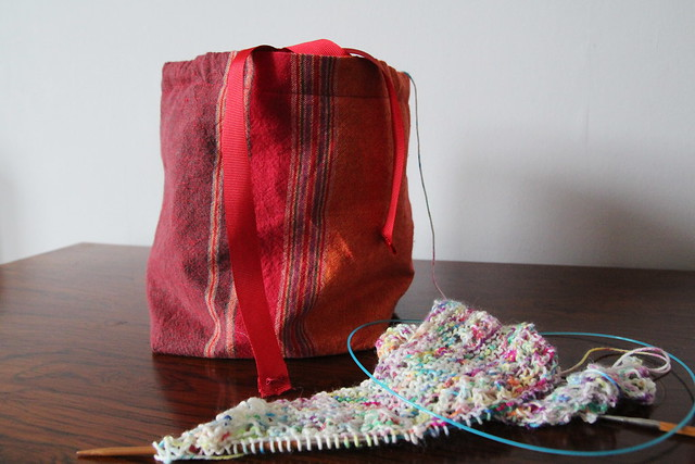 Homemade project bags