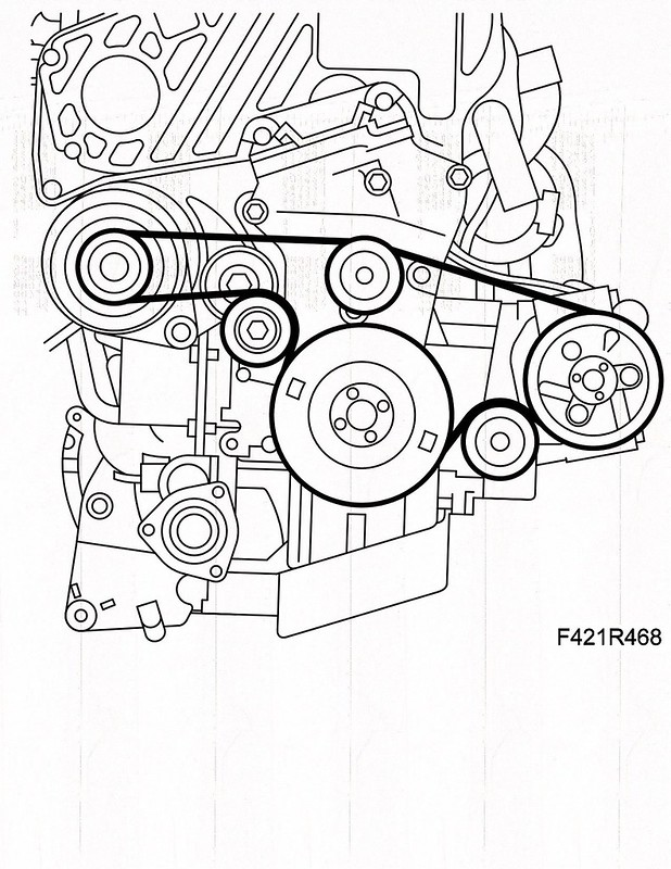 Saab Belt Diagram Including 1999 Saab 9 3 Serpentine Belt Diagram