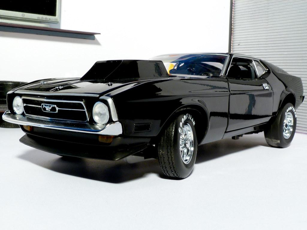 New Mustang Racing Car