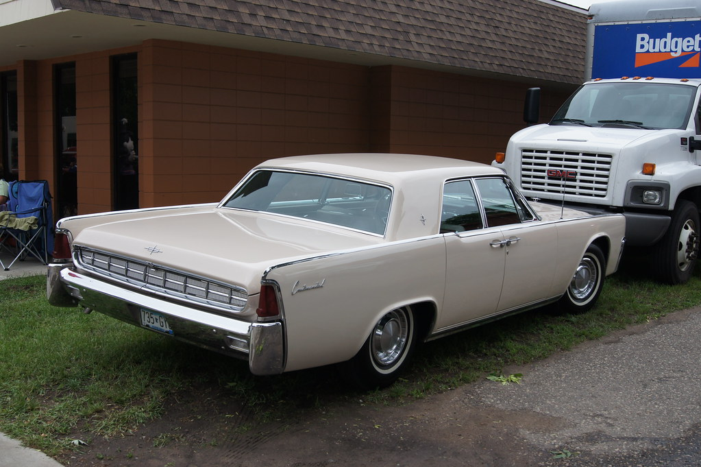 63 Lincoln Continental Msra Back To The 50 S 40th