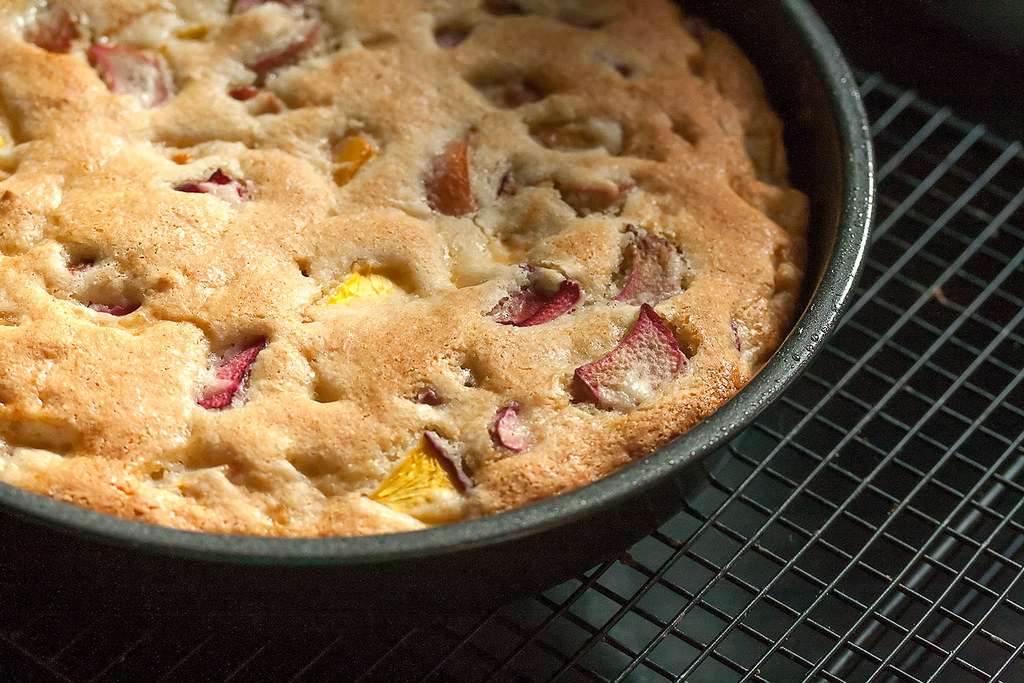 Easy Rhubarb Cake Recipe Uk