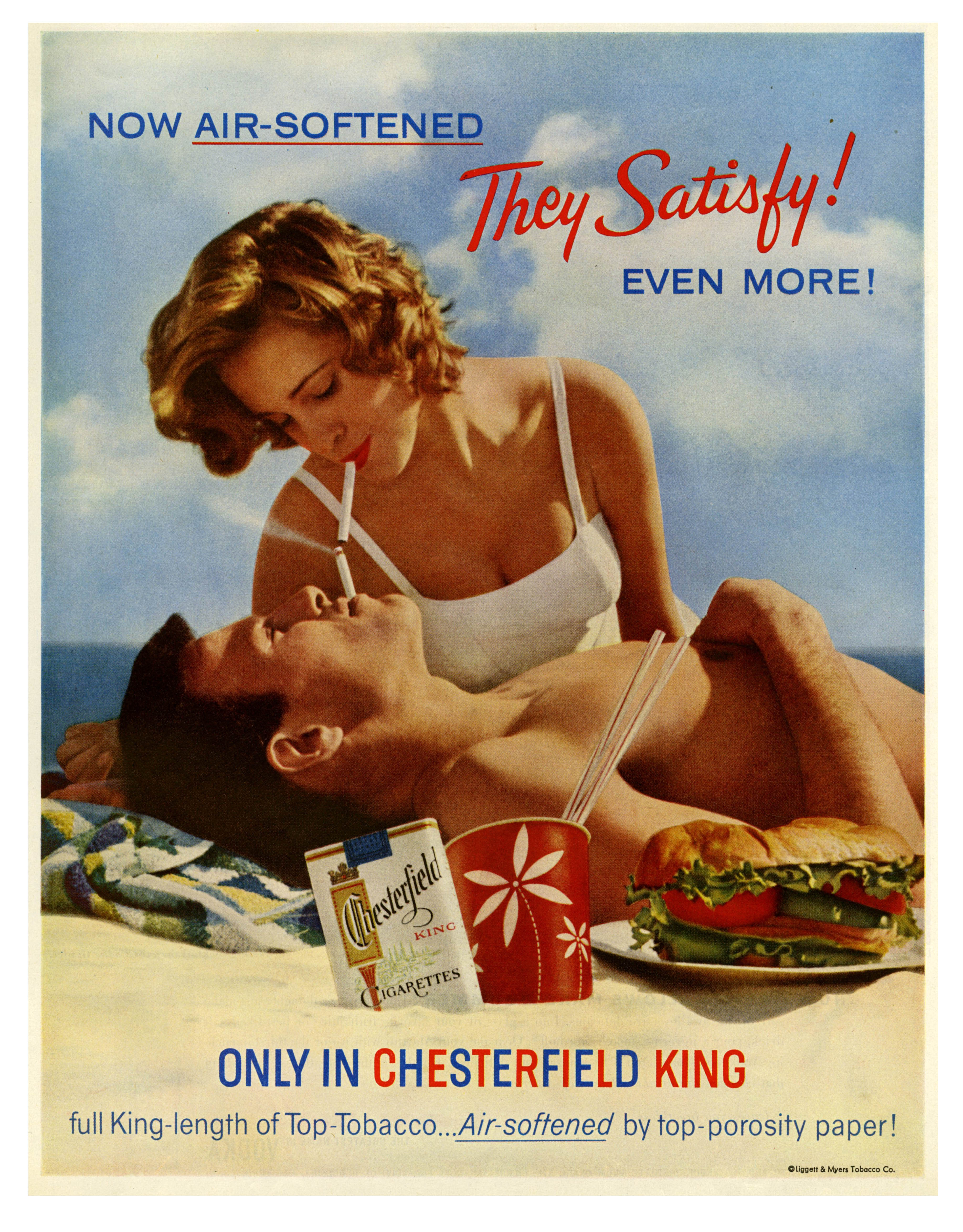 Chesterfield King Cigarettes - 1960