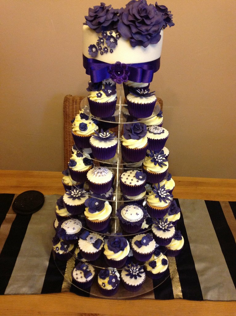 Cadbury Purple Wedding Cake Andria Payne Flickr