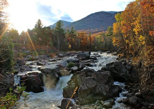 Adirondack Setting Sun