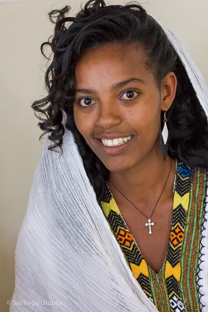Young Ethiopian Woman  Santiago  Flickr-5165