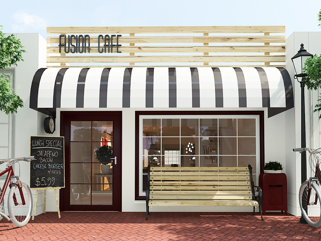 small coffee shop exterior images