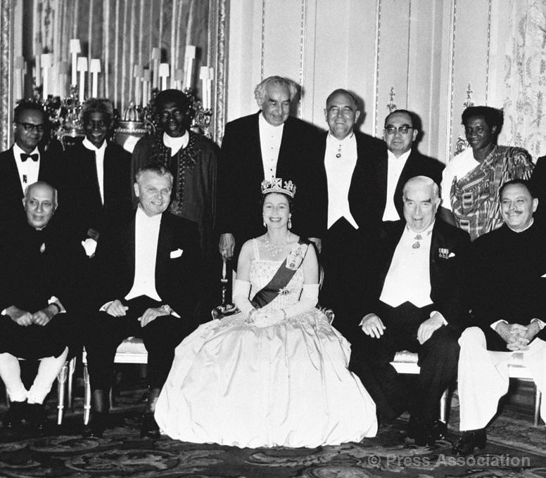 The Queen With Commonwealth Prime Ministers In 1962 Flickr