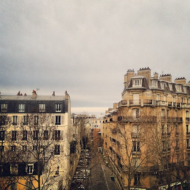 View from my balcony #travel #paris #projecthappiness