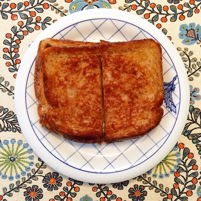 Happy Friday! Is there a more perfect comfort food than a grilled cheese sandwich? 😍