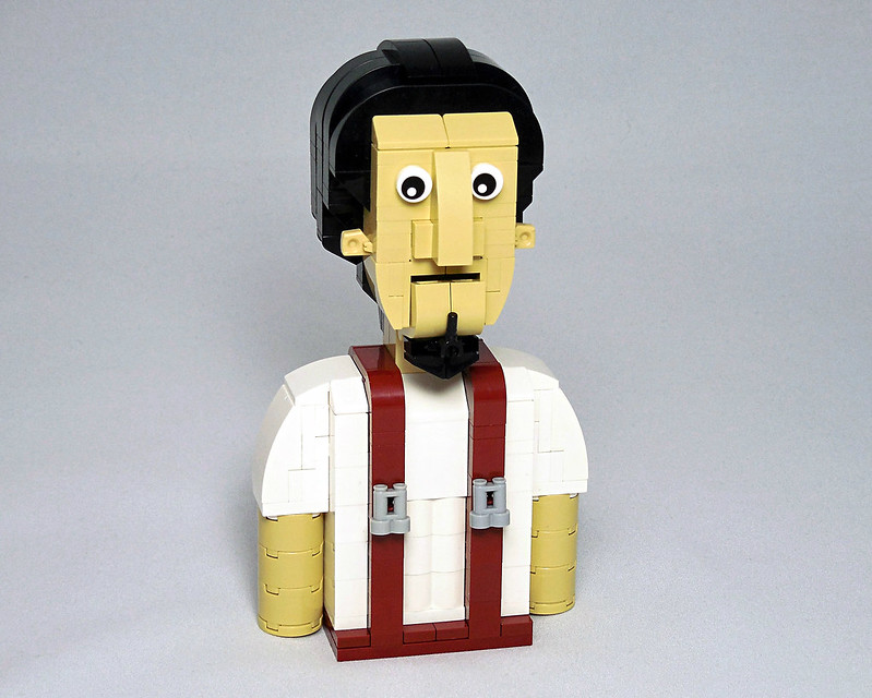 LEGO® MOC by Vitreolum: Random Guy with Suspenders