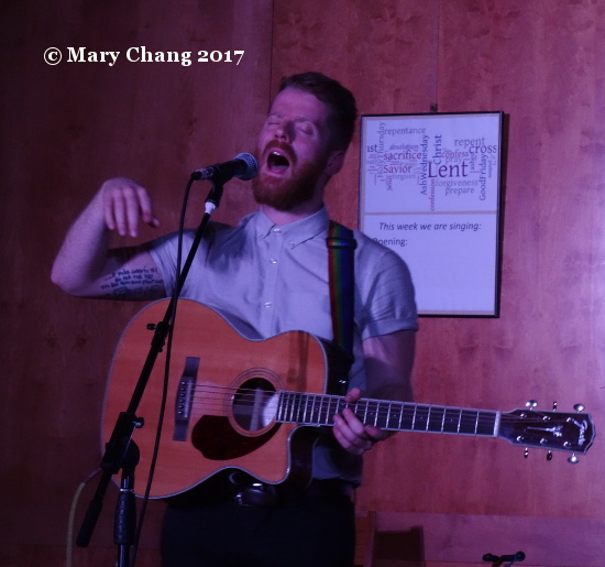 Ciaran Lavery, St. David's Historic Sanctuary, Bethell Hall, Friday 17 March 2017, 2