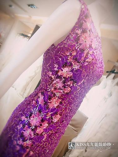 婚禮媽媽裝找高雄Kiss99就對了,變身婚禮最耀眼女配角的最佳幕後推手(15)紫色