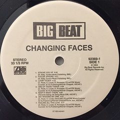 CHANGING FACES:CHANGING FACES(LABEL SIDE-A)