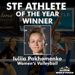 STF Athlete of the Year - Women (Iuliia Pakhomenko)