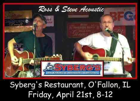Ross & Steve Acoustic 4-21-17