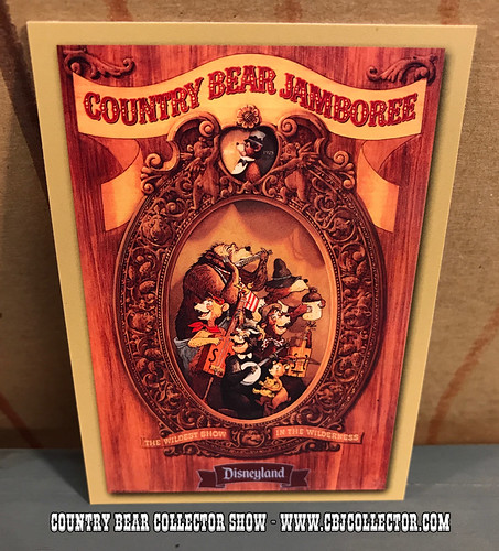 2005 Upper Deck Disneyland 50th Country Bear Trading Card - Country Bear Collector Show #099