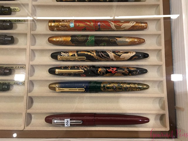Field Trip Sakura Fountain Pen Gallery in Diest, Belgium @sakurafpgallery 18