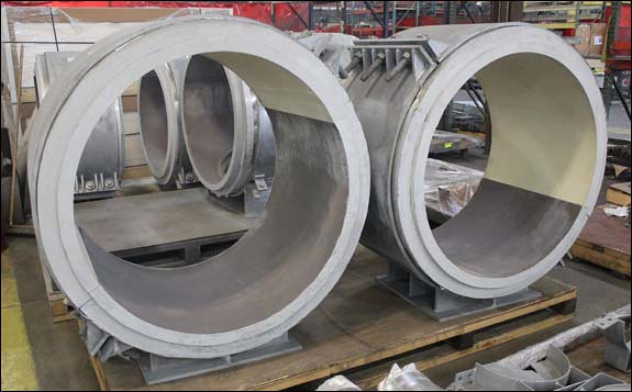 Cryogenic Pipe Supports Designed for a Petrochemical Complex in Louisiana