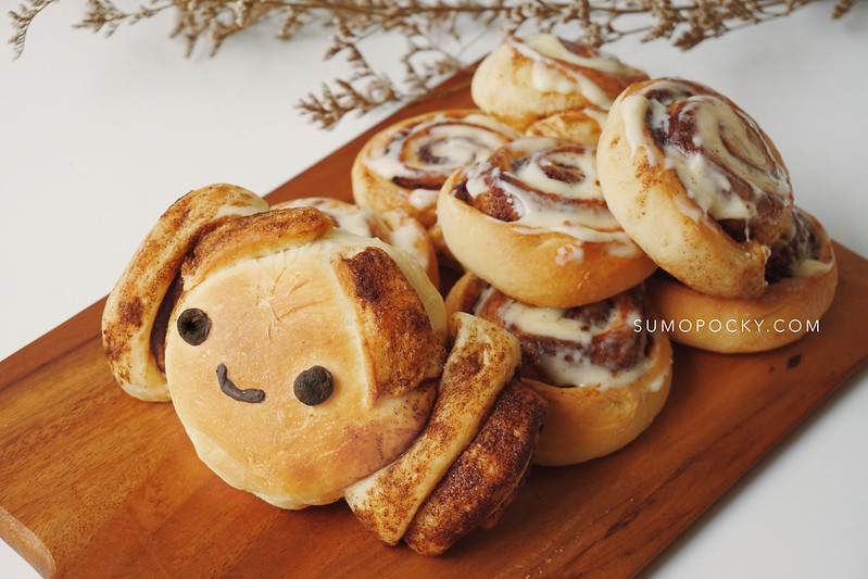 Princess Leia Cinnamon Roll recipe