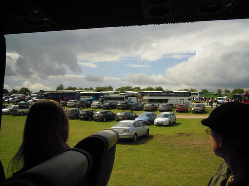 Parking. From Studying Abroad in London: A Trip to Stonehenge
