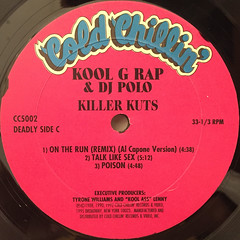 KOOL G RAP & DJ POLO:KILLER KUTS(LABEL SIDE-C)