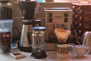 Chit's Coffee - Coffee Tasting prep