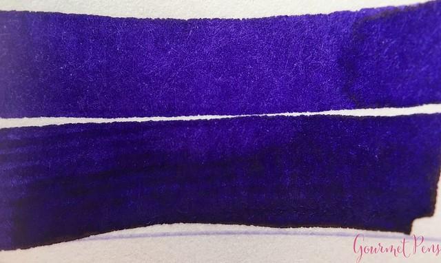 Ink Shot Review Diamine Flowers Iris @AppelboomLaren 3