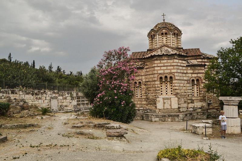 """Esta es la primera de las iglesias bizantinmas de """"tipo ateniense"""""""