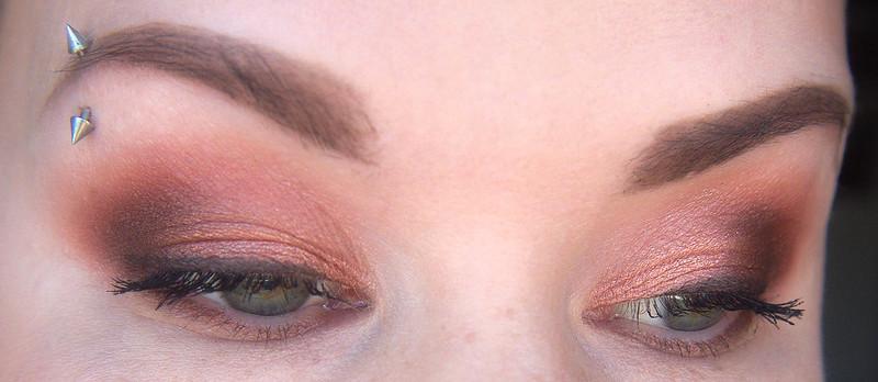 Smashbox Ablaze makeup