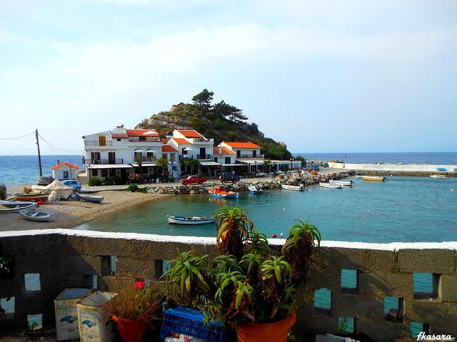 Port of Kokkari, Samos