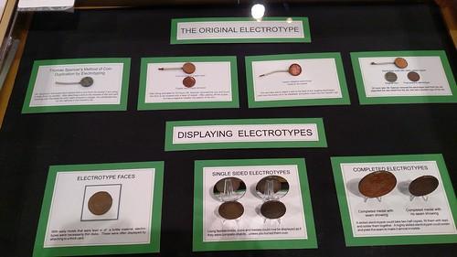 Electrotypes exhibit