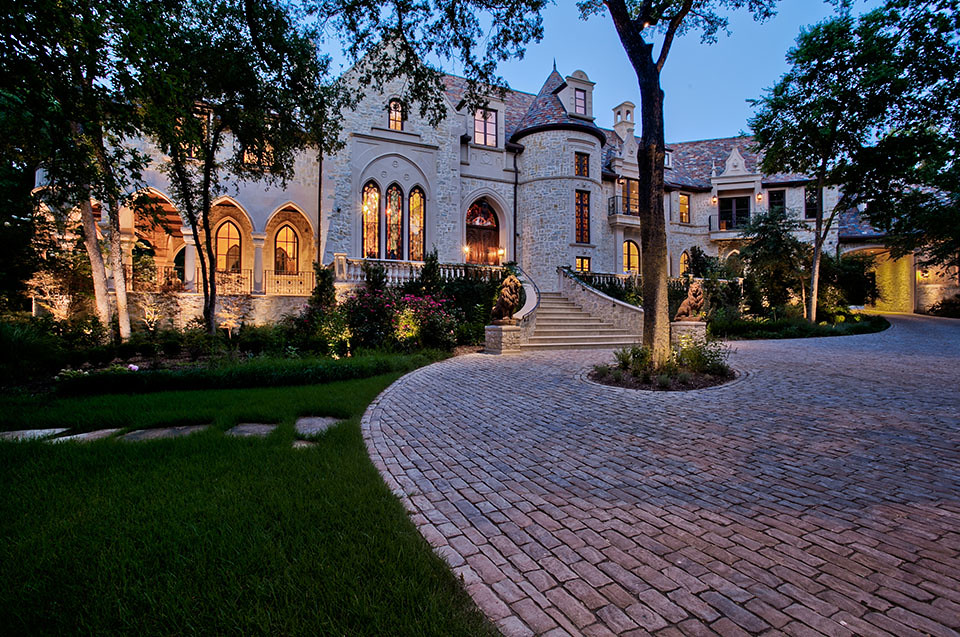 North Dallas Forty Luxury Estate M Mansion Inspired By