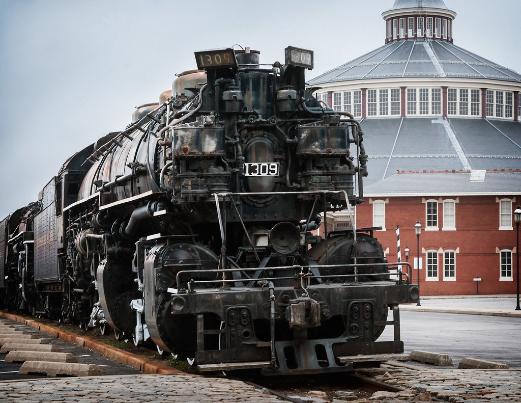 ... C&O Locomotive #1309 (1949), B&O Railroad Museum, 901 W Pratt St