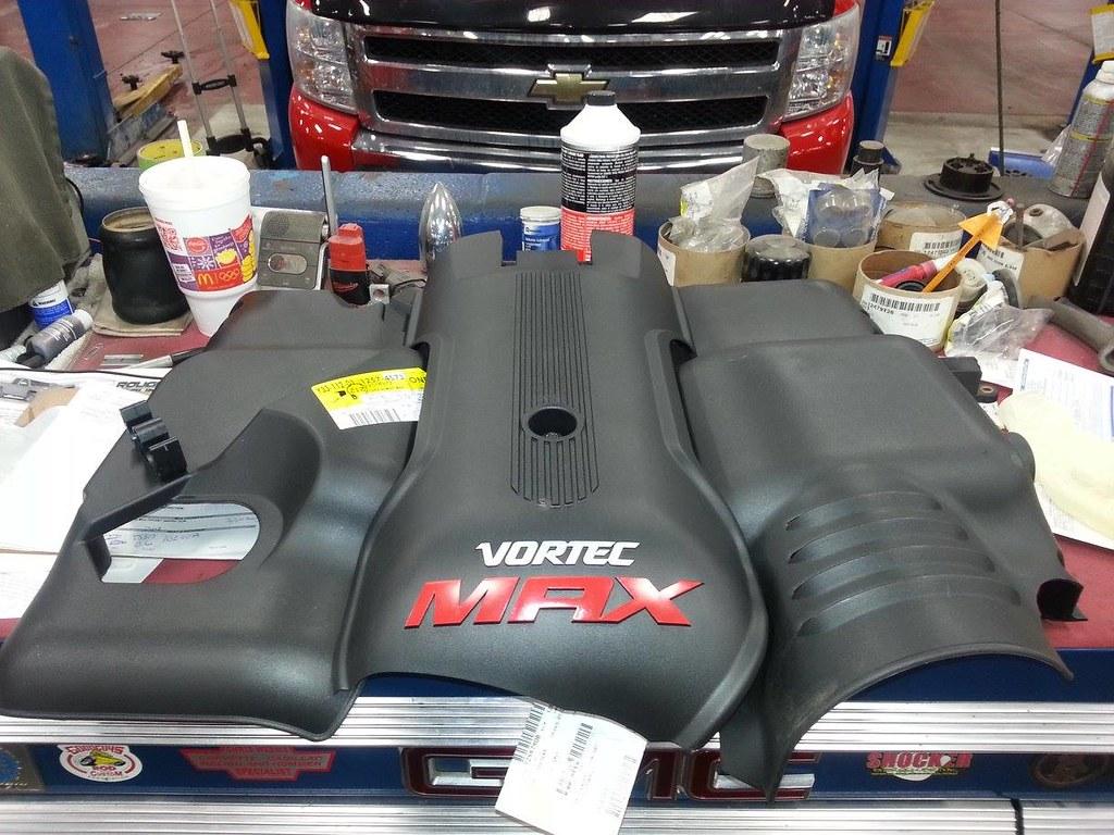 GM LS Vortec Max 3 piece cover | Thanks to Chris W. I wont h ...
